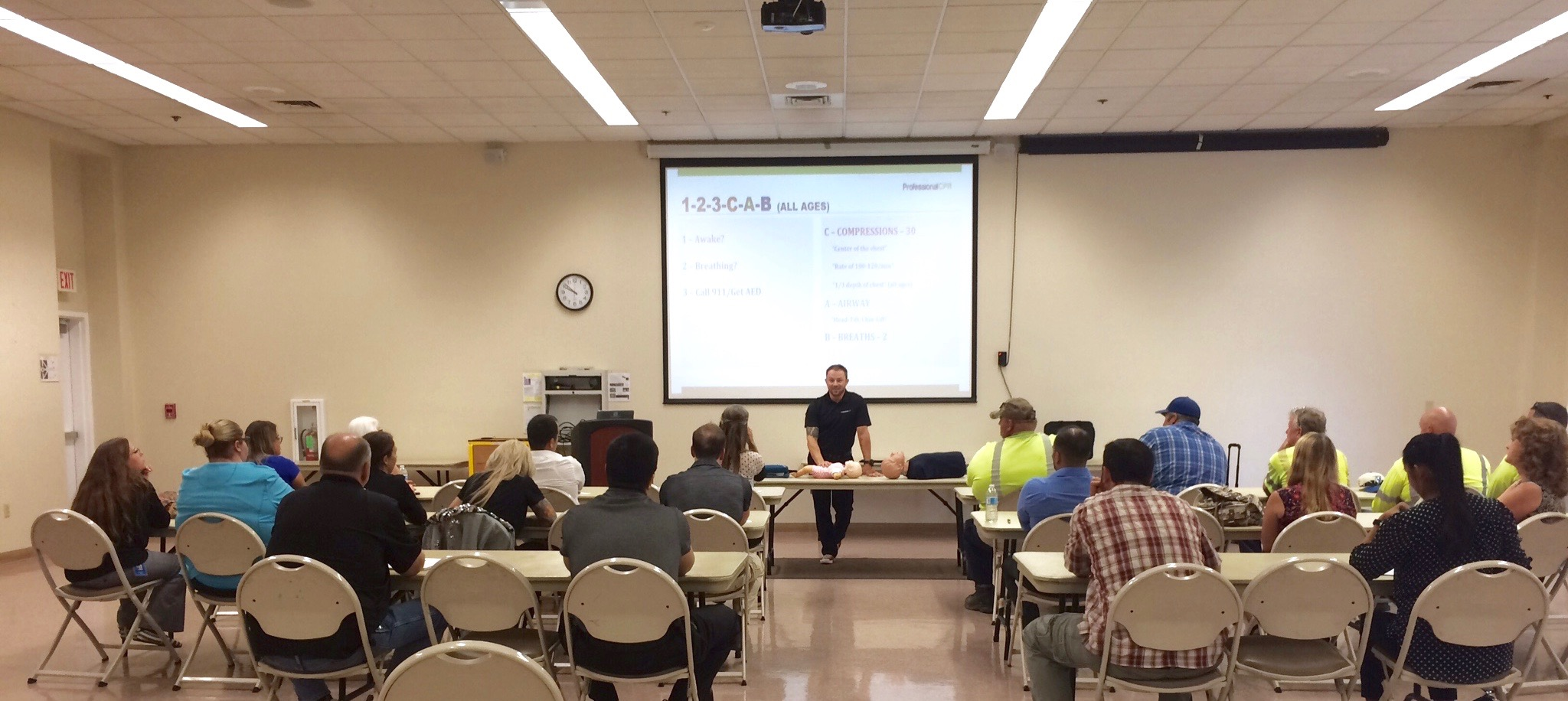 Stanislaus County CPR Class