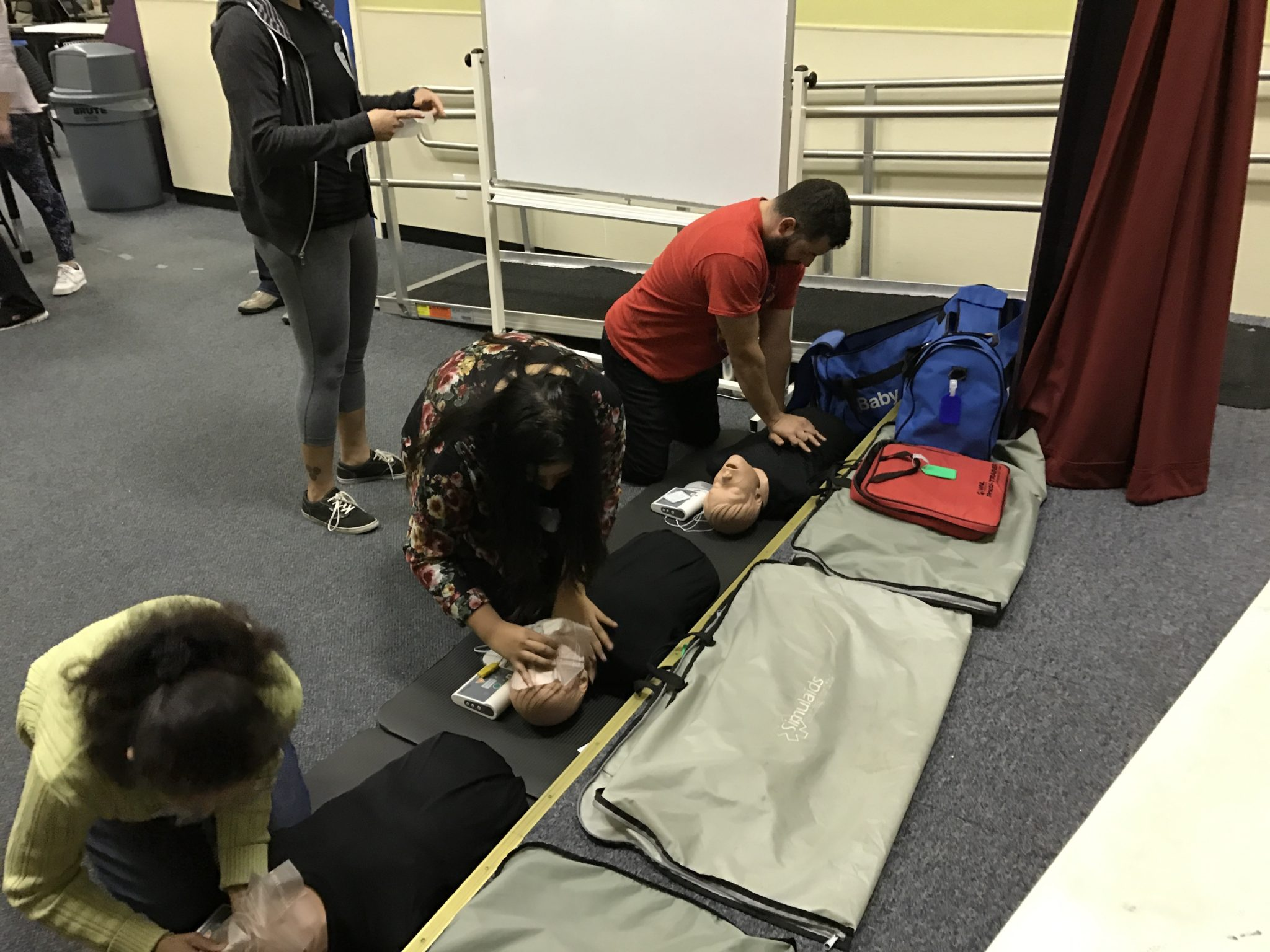 CPR at Navato Youth Center