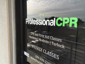 CPR Classes Modesto Front Door