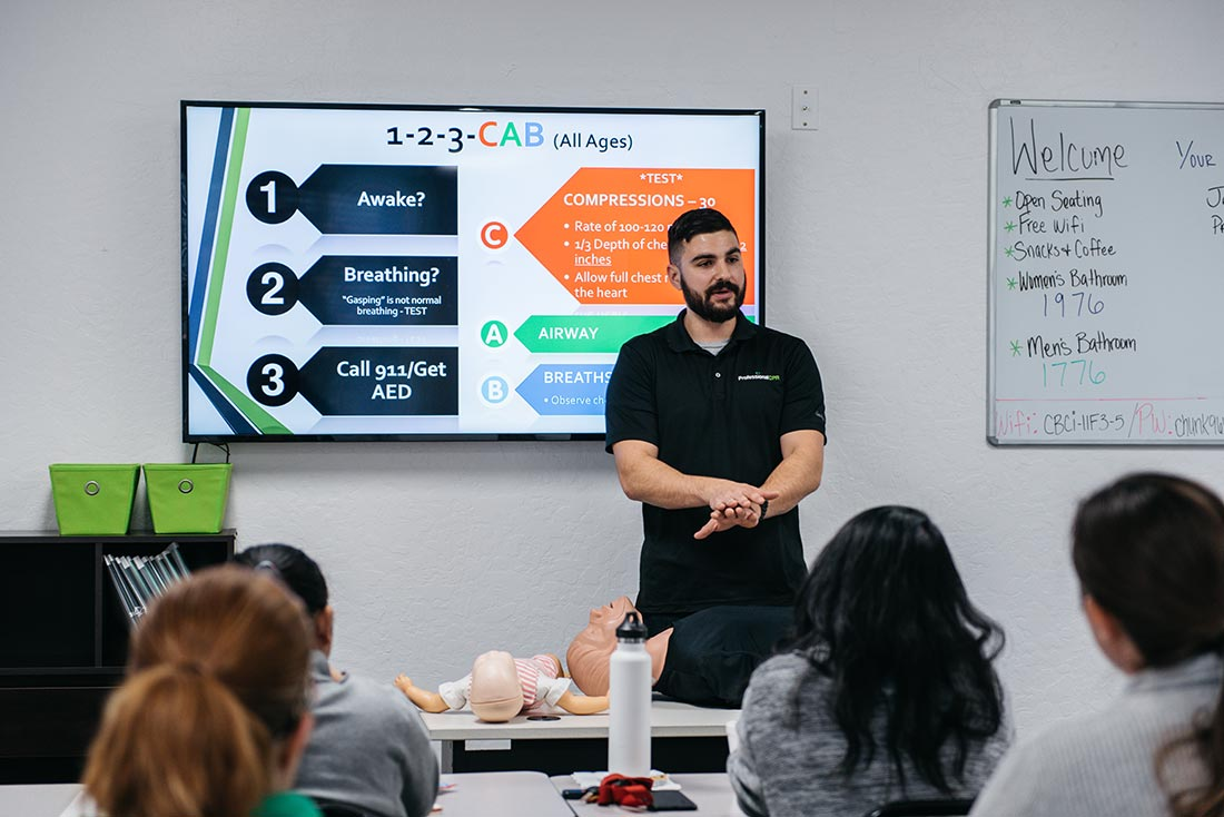 Cpr Aed First Aid Training Classes And Certification Sacramento